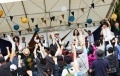 Rock Festival Powered by Solar Panels, Storage Batteries in Fukushima