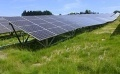 'Solar Plant on Slope' Starts Operation in Hilly Town