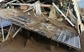 Solar Plants Damaged by Typhoons in Summer (3)