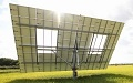 Rice Farmer Introduces Solar Sharing Using 2-axis Solar Tracking System (2)