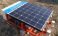 Robot Steps on Weeds to Suppress Their Growth at Solar Plants (2)