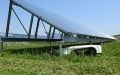 Remote-control Grass Cutter Operates Under 40cm-high Solar Mounting System (1)