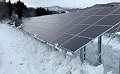 Snow on Solar Panels Removed During Night to Increase Power Generation (1)