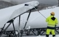 Snow on Solar Panels Removed During Night to Increase Power Generation (2)