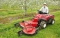Riding Grass Cutters for Orchards Gaining Attention for Use at Solar Plants