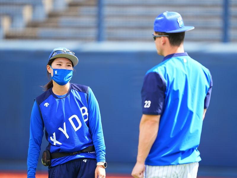 元野球部マネージャー、資格取得へ渡米