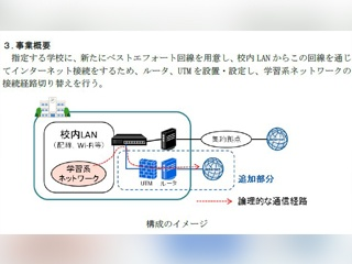 GIGAスクール構想の標準仕様にインターネット接続編を追加
