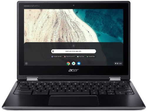 ノートパソコンのように利用できるコンバーチブル型のChromebook「R752T-G2」