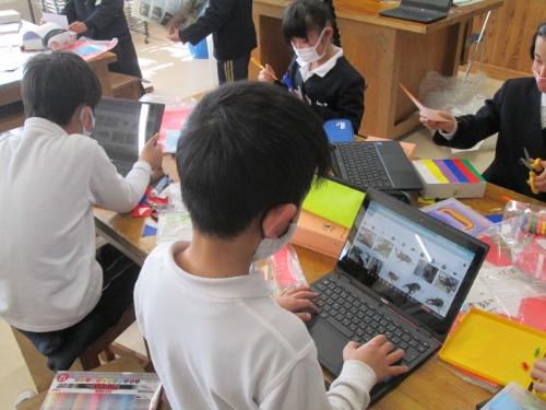 奈良市立都祁小学校では日頃からChromebookを授業で活用している