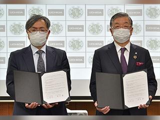 宮城教育大学と内田洋行が包括的事業連携協定