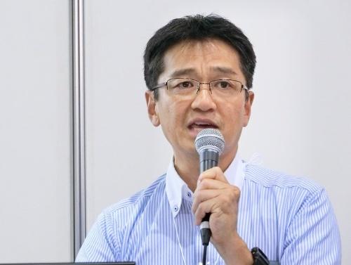 大阪教育大学 理事・事務局長の新津勝二氏
