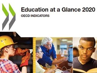 OECD、2020年版「図表でみる教育」を発行