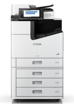 ラインヘッドを採用し、100枚/分で印刷可能な「LX-10050MF」