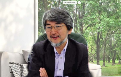 AXIES2020の実行委員長を務める大阪大学 サイバーメディアセンター長・教授の下條真司氏