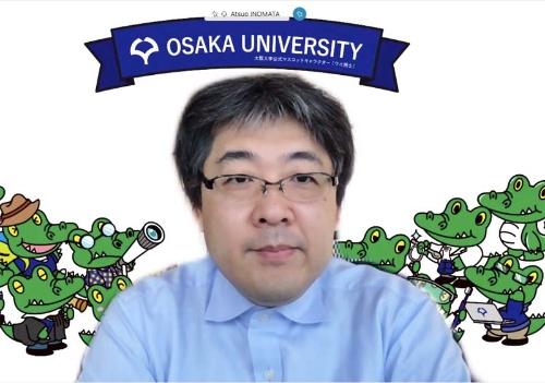 AXIES2020のプログラム委員長を務める大阪大学 サイバーメディアセンター教授の猪俣敦夫氏