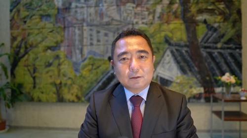 教育現場のICT機器活用を進める熊本市で、計画を陣頭指揮する熊本市教育委員会の遠藤洋路教育長