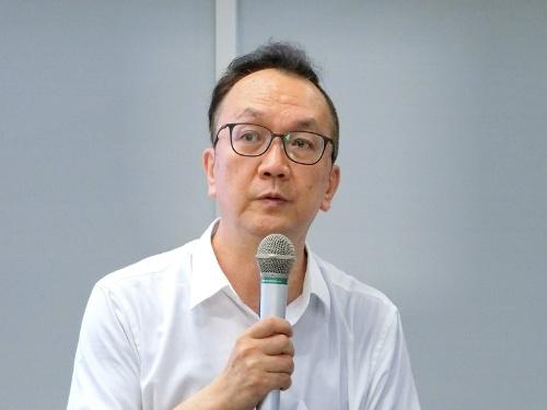 東京学芸大学の取り組みについて話す松田恵示氏