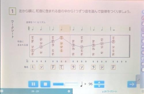 東京会場では、教育芸術社 第二編集部課長代理の佐藤貴史氏が、同社のデジタル教材をデモした
