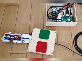 指の形をしたAIロボット「フィンガロン」、動きは「モデルベース強化学習」で自動生成