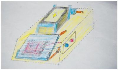 図1 「カードシャッフル装置」のイメージ