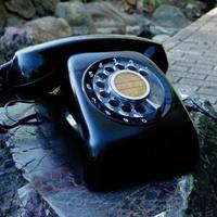 黒電話がスマホの無線イヤホンに、目覚ましも可能