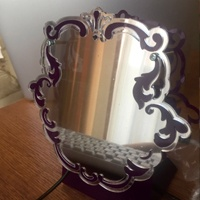 白雪姫の魔法の鏡「笑顔の素敵な、貴方は素敵」