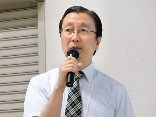 広島大学の松下毅彦氏