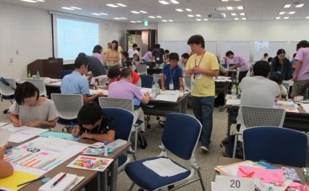 SAS Institute Japanの本社で開かれた「なつやすみ 親子でデータサイエンス2018」の様子