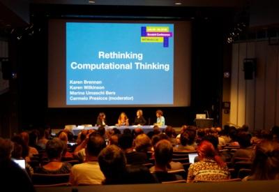写真2●コンピューテショナル・シンキングに関する討論の様子