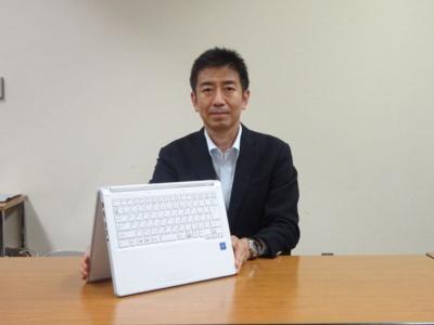 富士通クライアントコンピューティング 執行役員 コンシューマ事業本部副本部長の吉田慎二氏