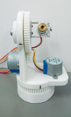 図3 機構部は3Dプリンターで制作