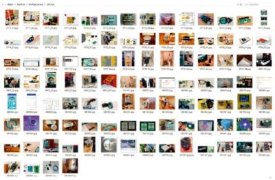 図2 受賞作の画像で学習モデルを作成