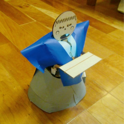 図1 茶運びロボット