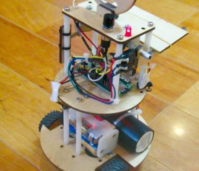 図2 ロボットの内部