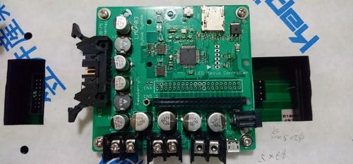 図2 LEDマトリックスの制御基板
