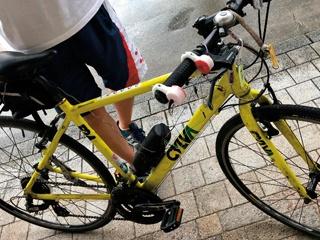 多様なセンサーを自転車に搭載、走行データをラズパイに記録